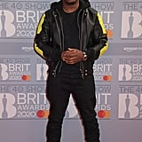 Dizzee Rascal at the 2020 BRIT Awards in London