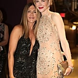 Pictured: Nicole Kidman and Jennifer Aniston