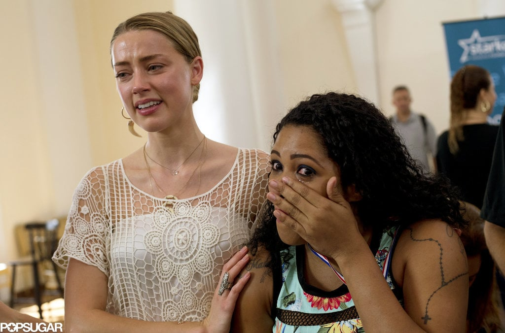 Johnny Depp and Amber Heard Get Emotional as They Help Brazilians Hear For the First Time