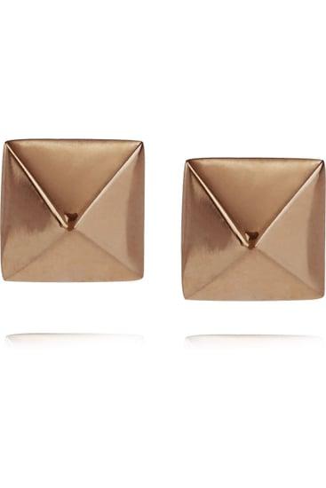 Anita KoSpike 14-karat Stud Earrings ($325)