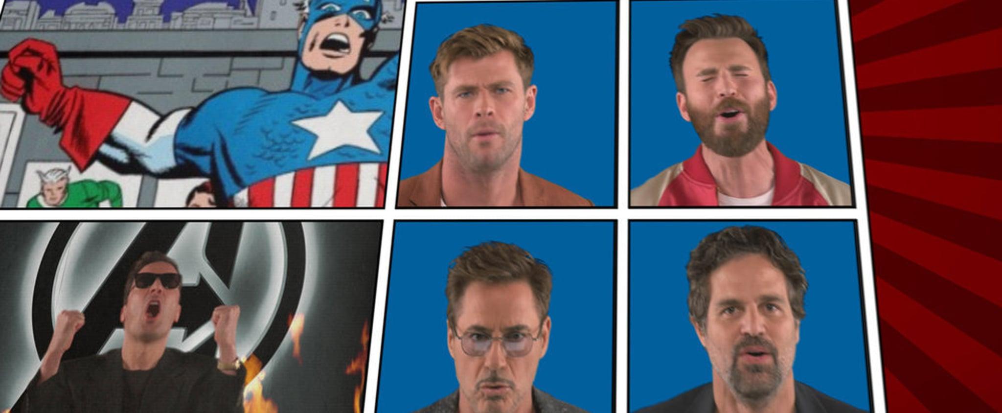 "Avengers Cast ""We Didn't Start the Fire"" Tonight Show Video"