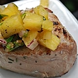 Caribbean Yellowfin Tuna With Pineapple Salsa