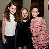 Darby Camp, Ivy George, and Chloe Coleman at EW's 2020 SAG Awards Preparty
