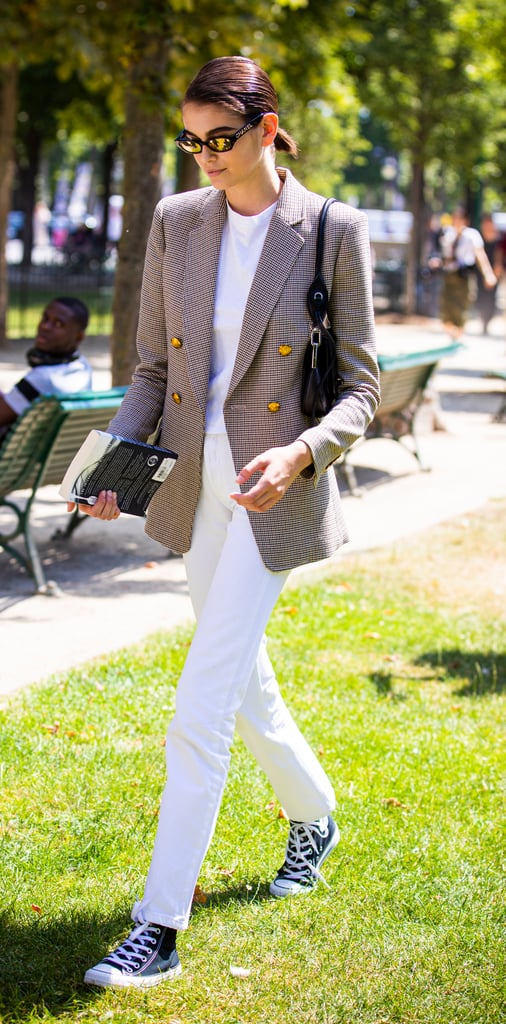 How to Wear Jeans: Kaia Gerber
