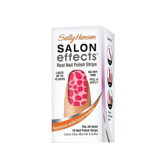 Nail art is a cinch with Sally Hansen Salon Effects in Can't Be Tamed ($9). The speckled hot pink will give your nails just the right amount of Summer fun.