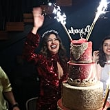 Priyanka Enjoying Her Birthday With Cake at Komodo
