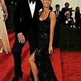 Gisele Bundchen and Tom Brady were sexy as ever showing PDA and giggling as they made their way inside the event.