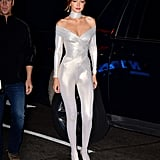 Gigi Hadid Catsuit at the 2018 Victoria's Secret After Party