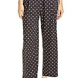 Rosetta Getty Bauhaus Dot Print Cotton Poplin Crop Pants
