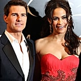 Tom Cruise and Paula Patton were camera ready in Dubai.