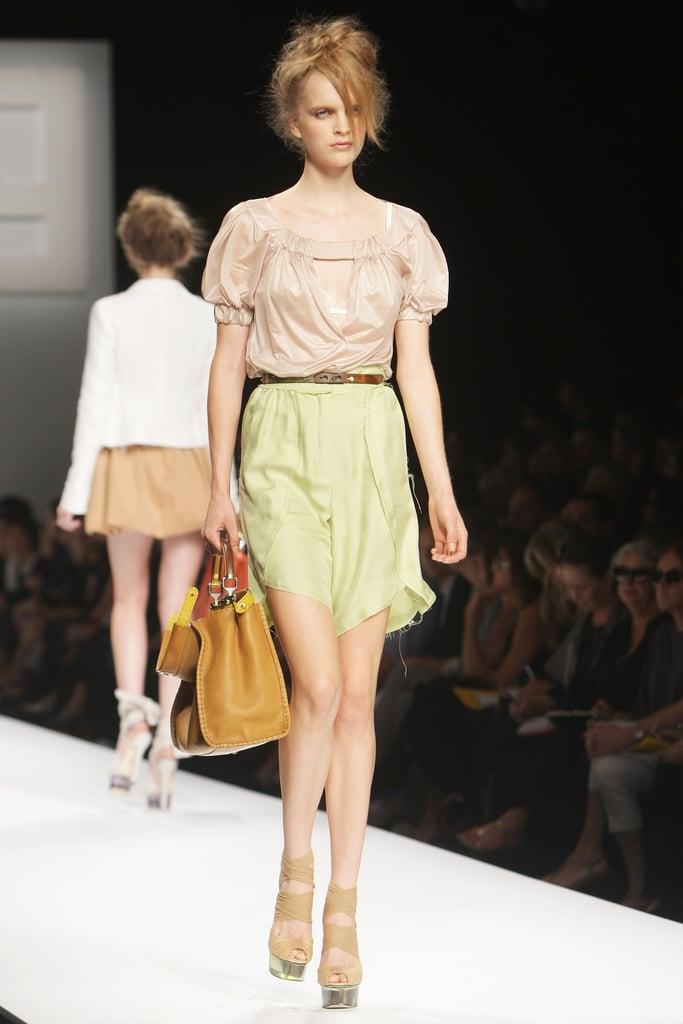 Milan Fashion Week: Fendi Spring 2010