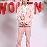 Timothée Chalamet Just Wore Another Pink Suit