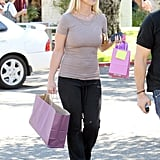 Britney Spears picked up a few gifts.