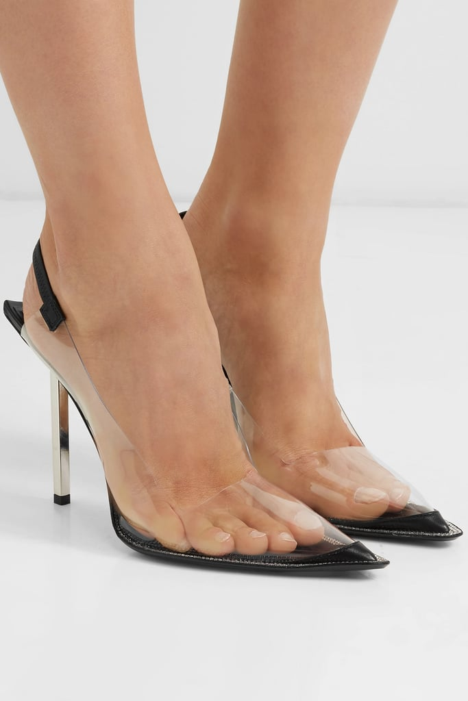 Check Out Her Exact Alexander Wang Heels