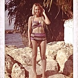 She wore a high-waisted Missoni bikini while on vacation in Jamaica in December 2013.