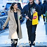 Zendaya and Jacob Elordi in New York