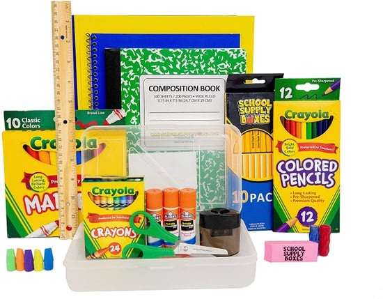 The Ultimate Supply Set: Back To School Supply Box