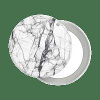 PopGrip Mirror Dove White Marble PopSocket