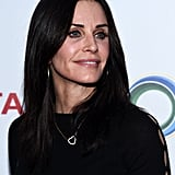 Courteney Cox's Straight Medium-Length Hair in March 2017