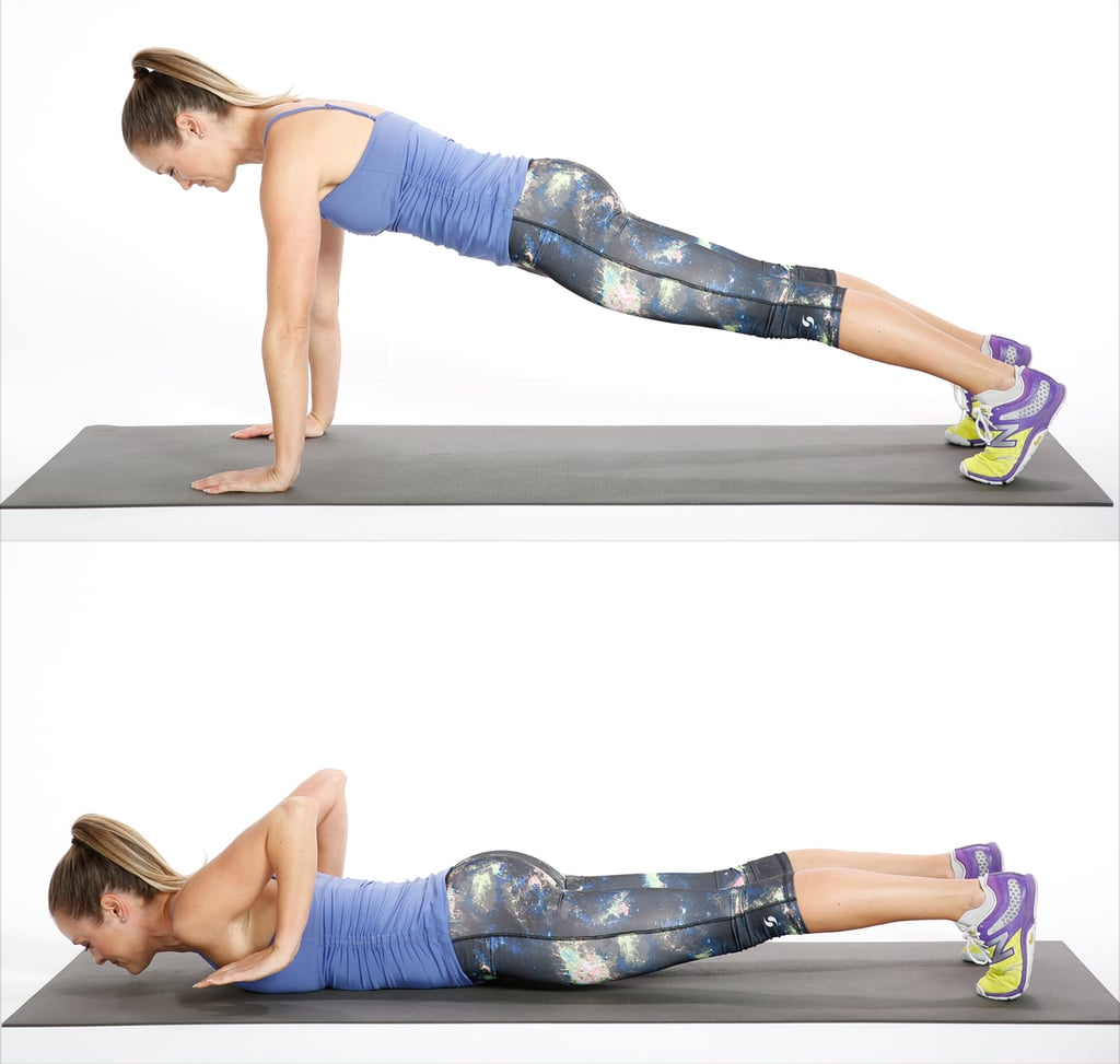 Circuit Three Negative Push Up This At Home Bodyweight