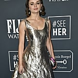 Joey King's Silver Critics' Choice Awards Gown Is Amazing