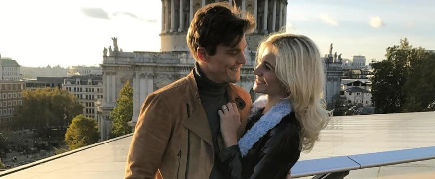 Pixie Lott and Oliver Cheshire Engagement Photos