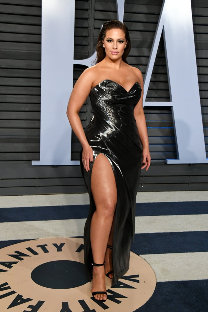 Ashley Graham Sexiest Oscars After Party Dresses 2018