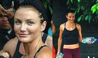 Cameron Diaz Hearts ilm Head Gear