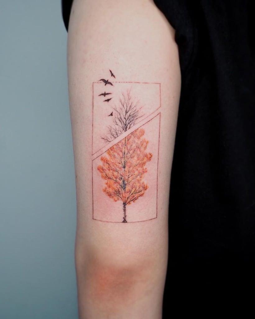 20 Fall-Inspired Tattoo Ideas