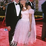 Matthew Broderick and Sarah Jessica Parker at the 2000 Emmy Awards