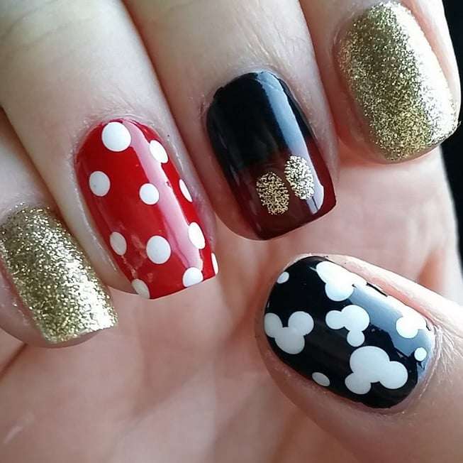 Disney nail art ideas popsugar beauty prinsesfo Gallery
