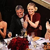 Amy Poehler sat on George Clooney's lap while hosting the 2013 Golden Globes.