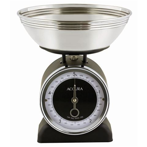 Accura Neptune Black Mechanical Kitchen Scale, $43