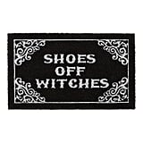 Shoes Off Witches Doormat
