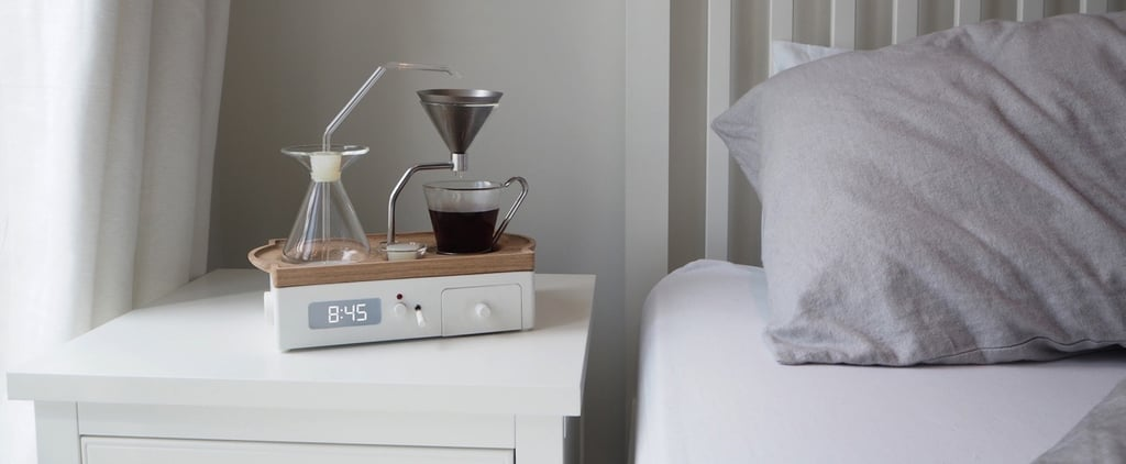 You NEED This Coffeemaker Alarm Clock in Your Life — and You Can Preorder It Now!