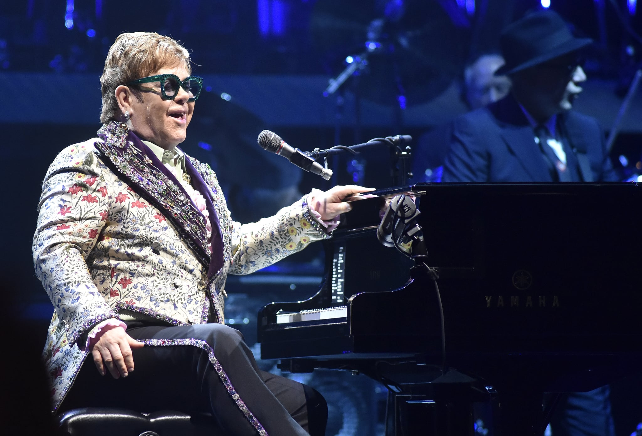 SACRAMENTO, CALIFORNIA - JANUARY 16: Elton John performs during his