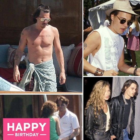 Johnny Depp Is 49! See His Life, Loves, and Work Over the Years