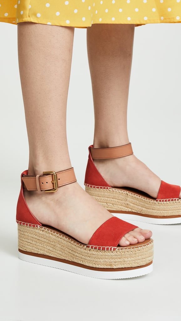 9907e053806 See by Chloe Glyn Mid Wedge Espadrilles | Best Travel Sandals 2019 ...