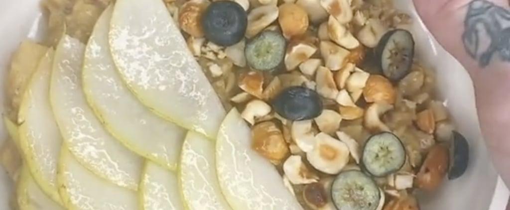 Fancy Oatmeal Recipe   TikTok Video