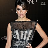 Eva Longoria got dressed up for the opening dinner at the Cannes Film Festival.