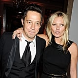Jamie Hince and Kate Moss enjoyed themselves at the London event.
