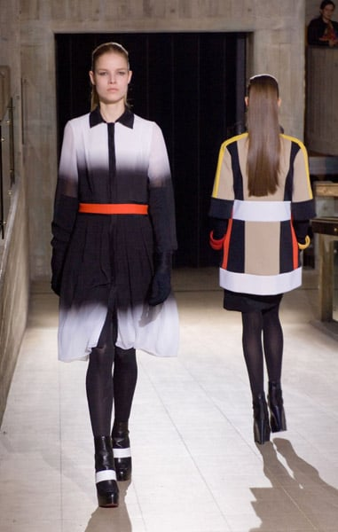 London Fashion Week, Fall 2007: Jonathan Saunders