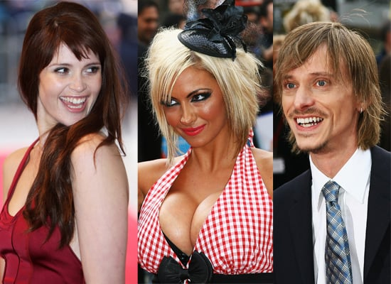 Jodie Marsh, Gemma Arterton And Mackenzie Crook Attend The Three And Out Premiere