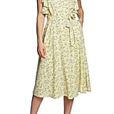 1.State Blossom Cluster Wrap Dress
