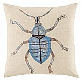 The Land of Nod Bug Throw Pillow