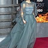 Emilia Clarke Valentino Gown Game of Thrones Premiere