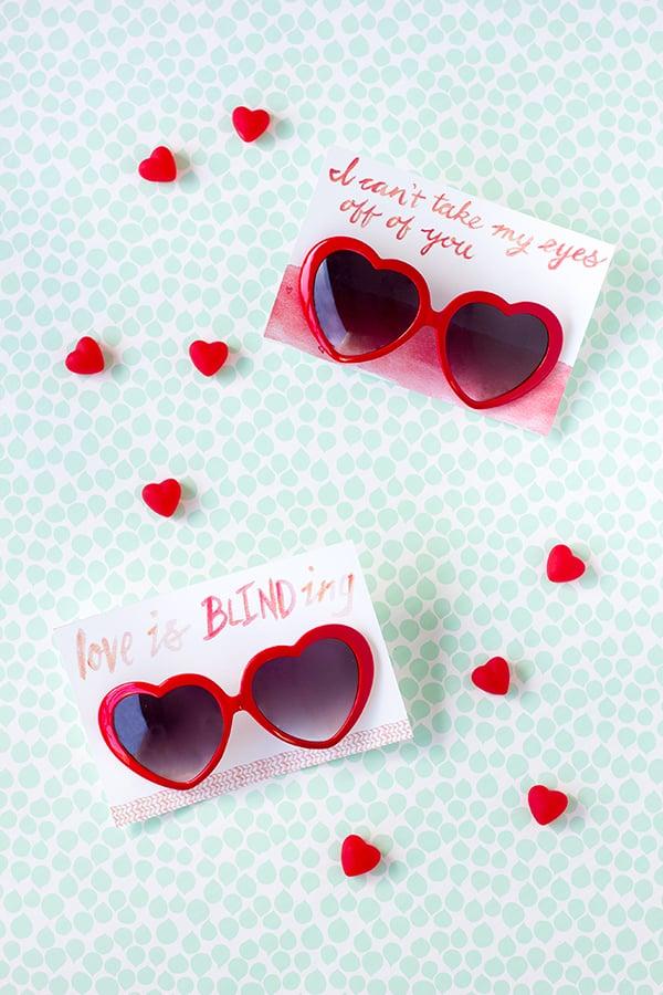 Heart Sunglasses Valentine