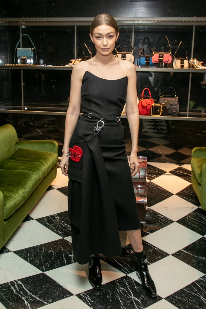 Gigi Hadid At A Prada Event During Paris Fashion Week Gigi Hadid