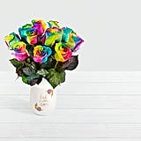 Long Stemmed Tie Dyed Roses