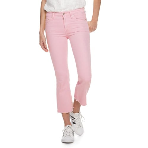 71dd05691588e POPSUGAR Collection at Kohl s High-Waisted Kick Flare Jeans